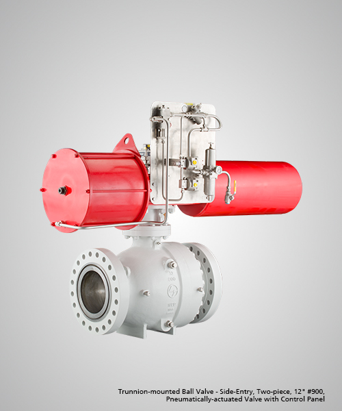 Trunnion-mounted-Ball-Valve---Side-Entry,-Two-piece,-12--900,-Pneumatically-actuated-Valve-with-Control-Panel.jpg