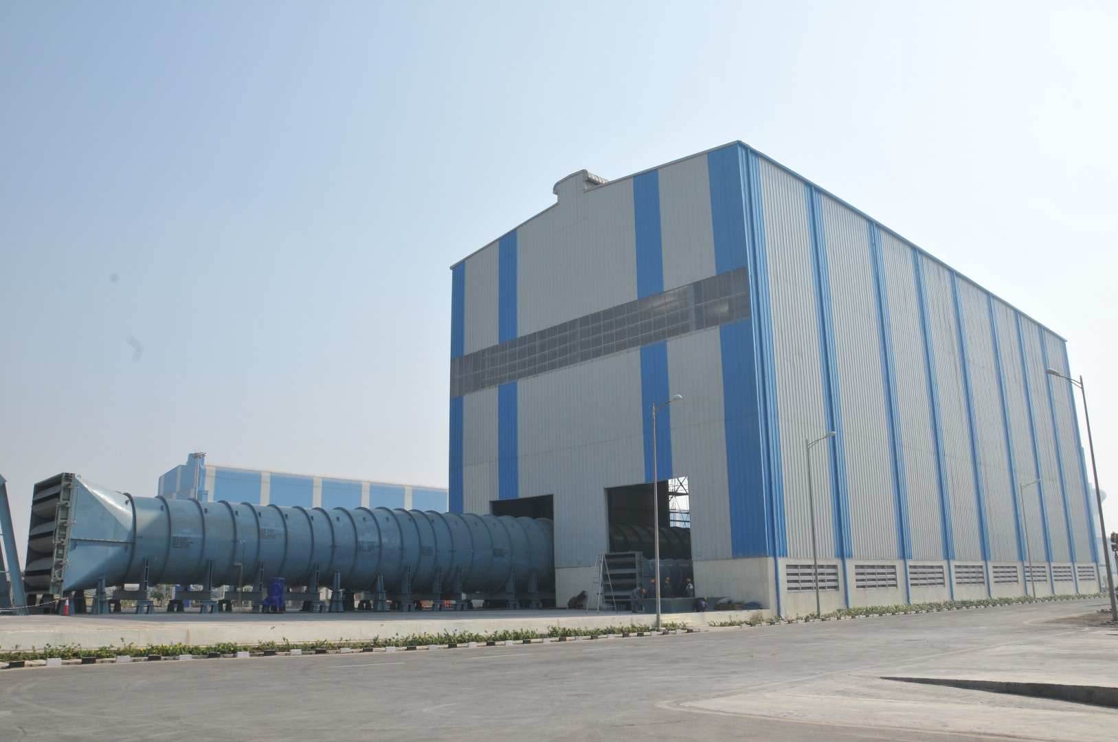 Fan Assembly and Testing Facility