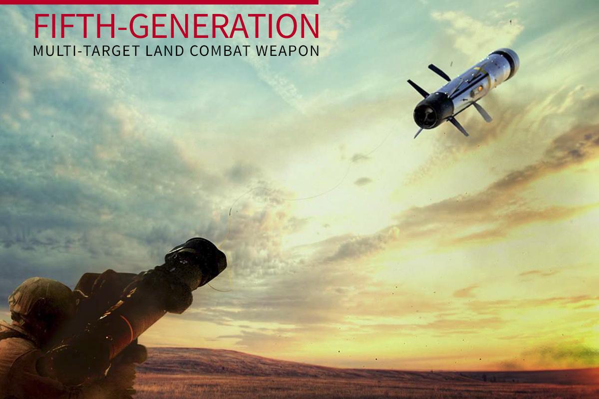 ATGM5 Fifth-Generation, Multi-Target Land Combat Weapon
