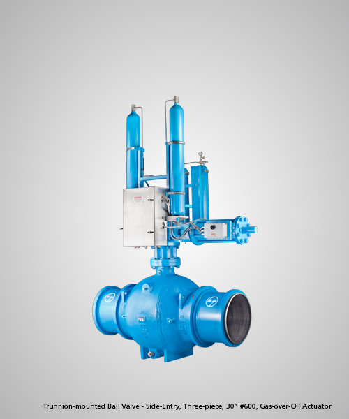 Trunnion-mounted-Ball-Valve---Side-Entry,-Three-piece,-30--600,-Gas-over-Oil-Actuator.jpg