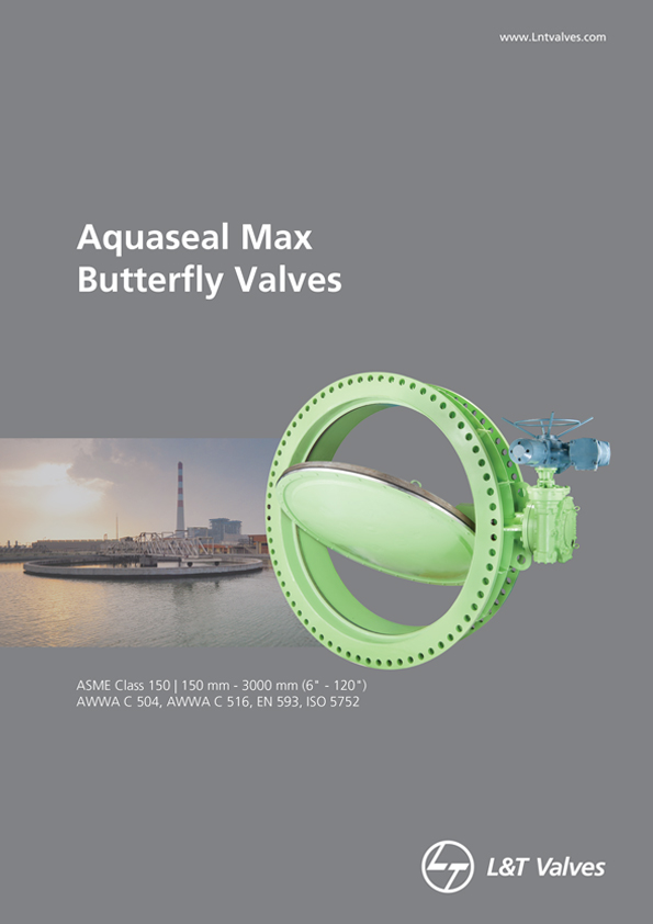 L&T Valves Aquaseal Max Butterfly Valves