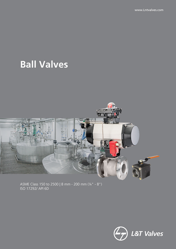 L&T Valves Floating Ball Valves