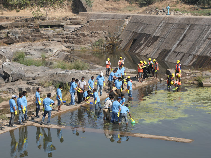 L&T employees volunteer on World Water Day - 4