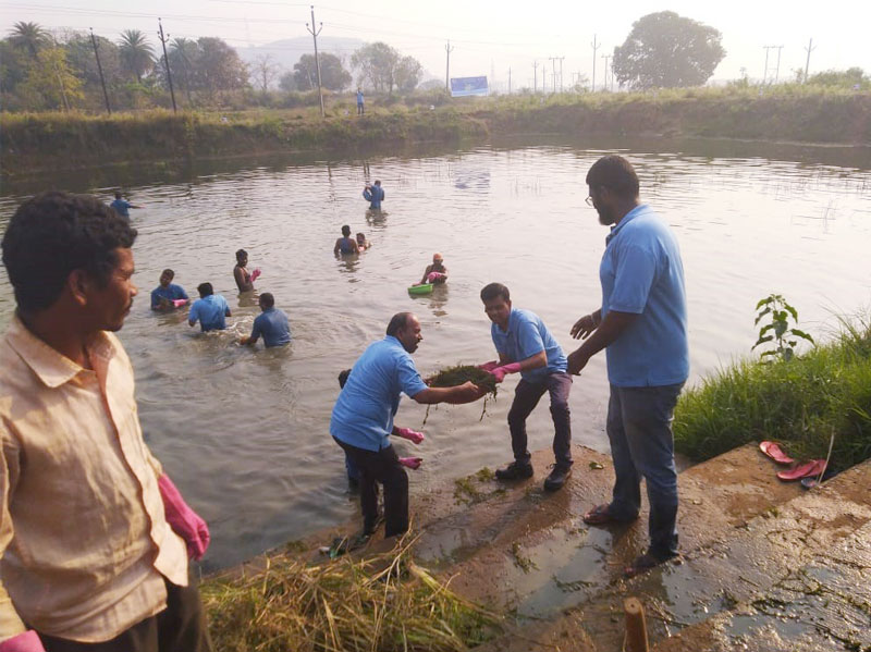 L&T employees volunteer on World Water Day - 5