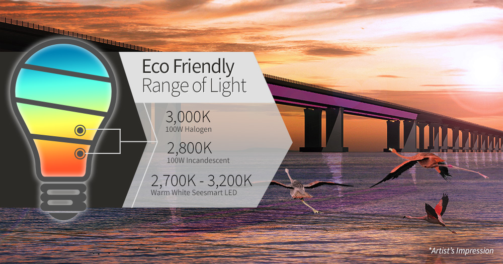 Eco friendly range of lights