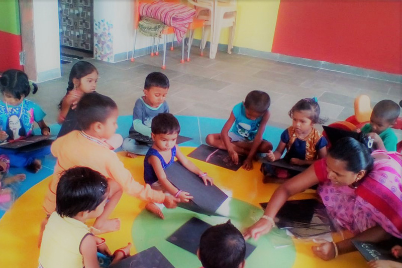 An environment that helps children learn and play