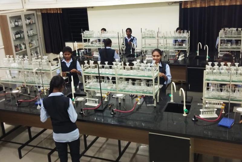 Science Labs for the Dr. Manibhai Desai Navchetan Madhyamik Shala