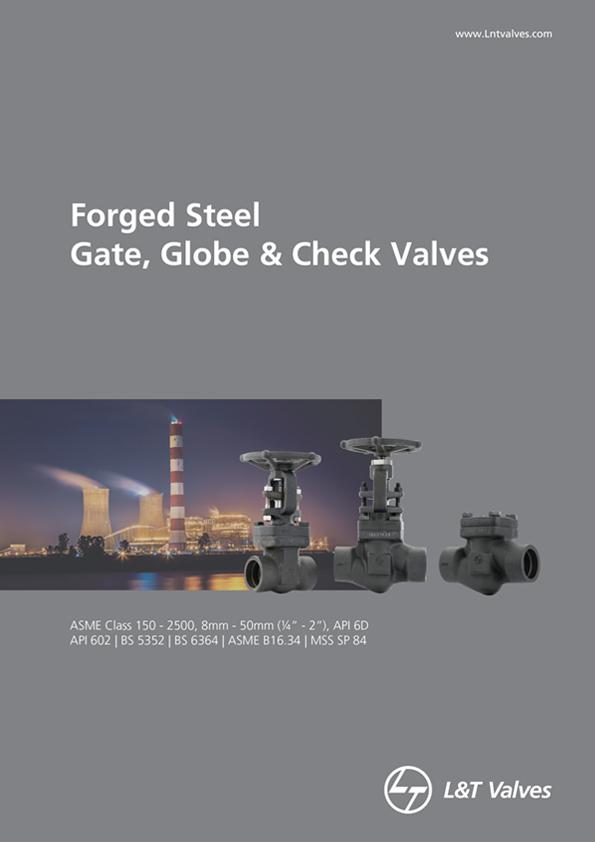L&T Valves Gate, Globe & Check Valves - API 602