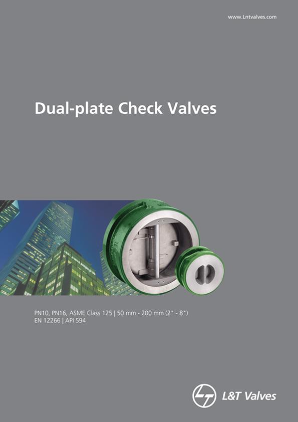 L&T Valves Dual-plate Check Valves