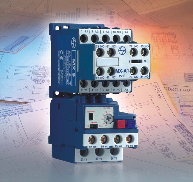 MX mini power contactor with relay