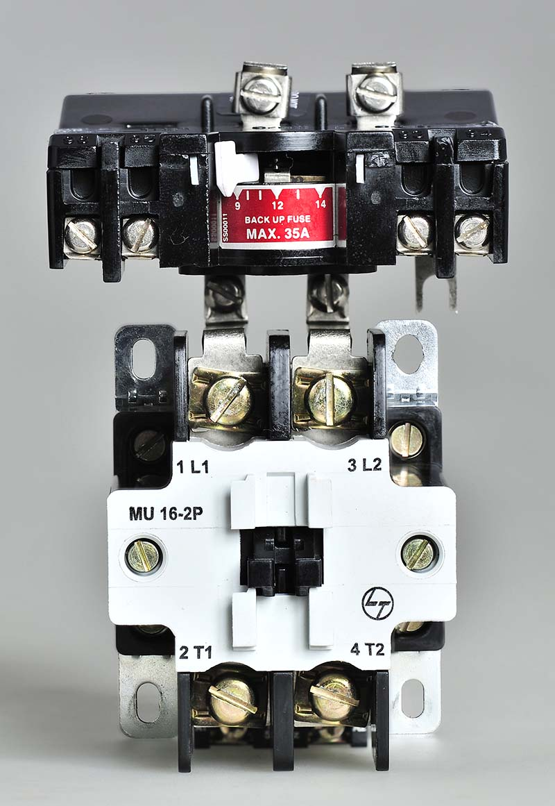 MU - 2P Power Contactor with relay