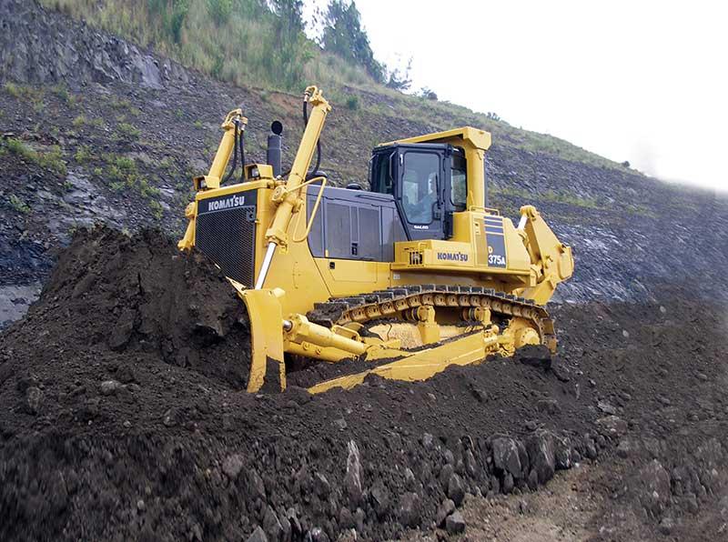 Komatsu D375 Dozer - Construction & Mining Equipment India | L&T