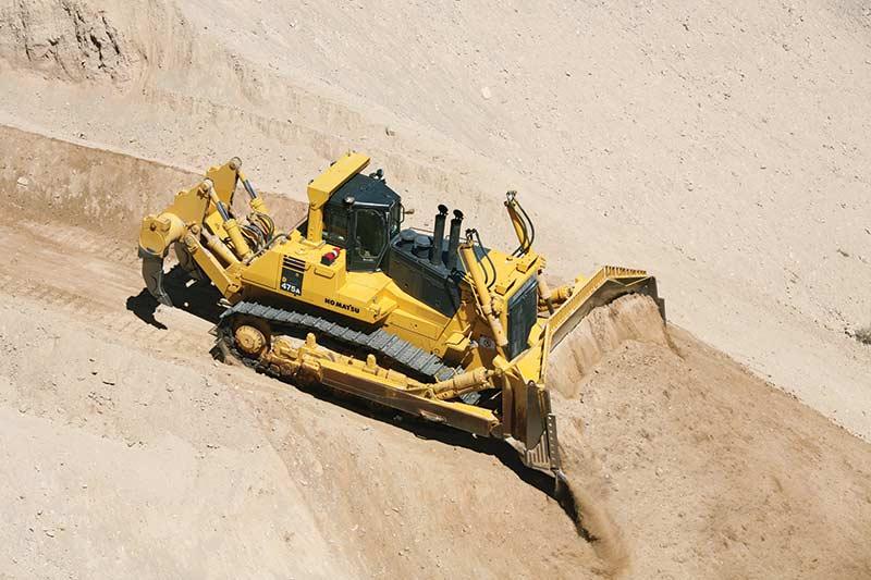Komatsu D85 Dozer - Construction & Mining Equipment India | L&T
