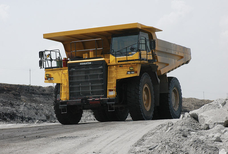 Komatsu HD785 Dump Truck - Construction & Mining Equipment
