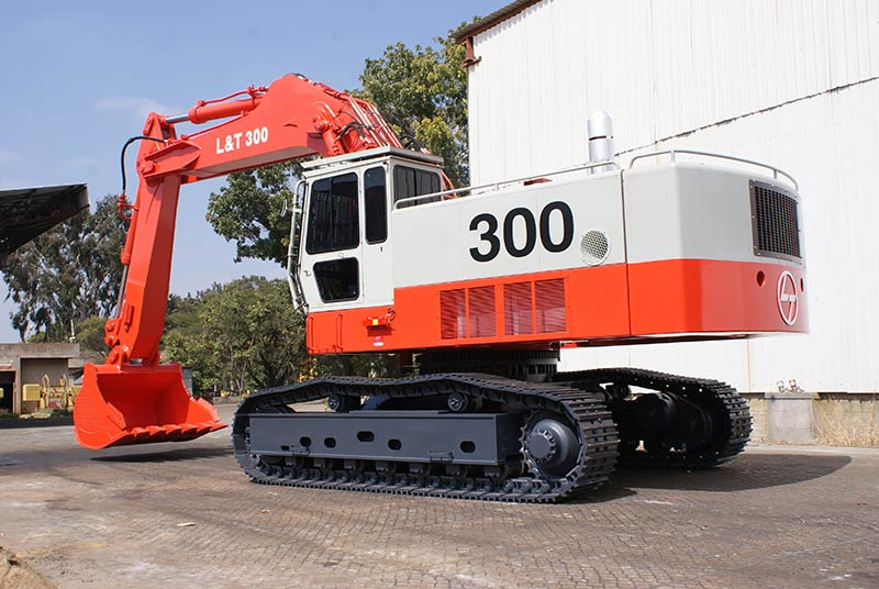 L&T 300 Excavator - Construction & Mining Equipment India | L&T