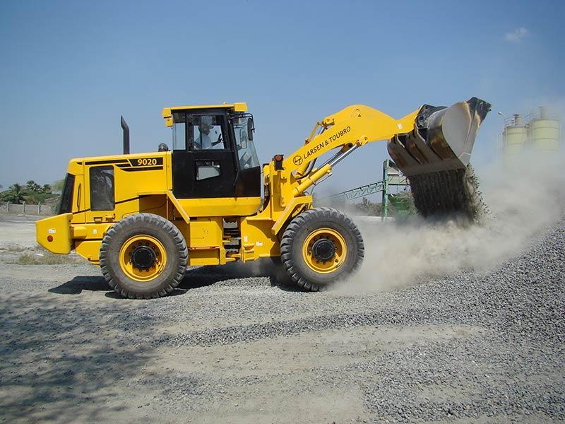 L&T 9020 Wheel Loader - Construction & Mining Equipment India | L&T