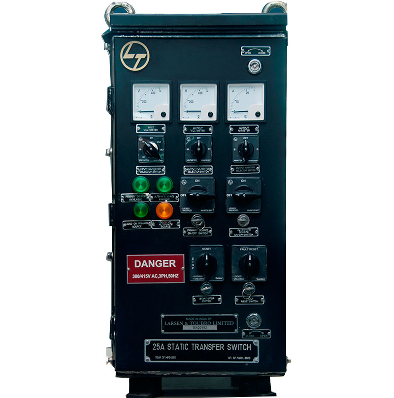 Static Transfer Switches & Changeover Switches