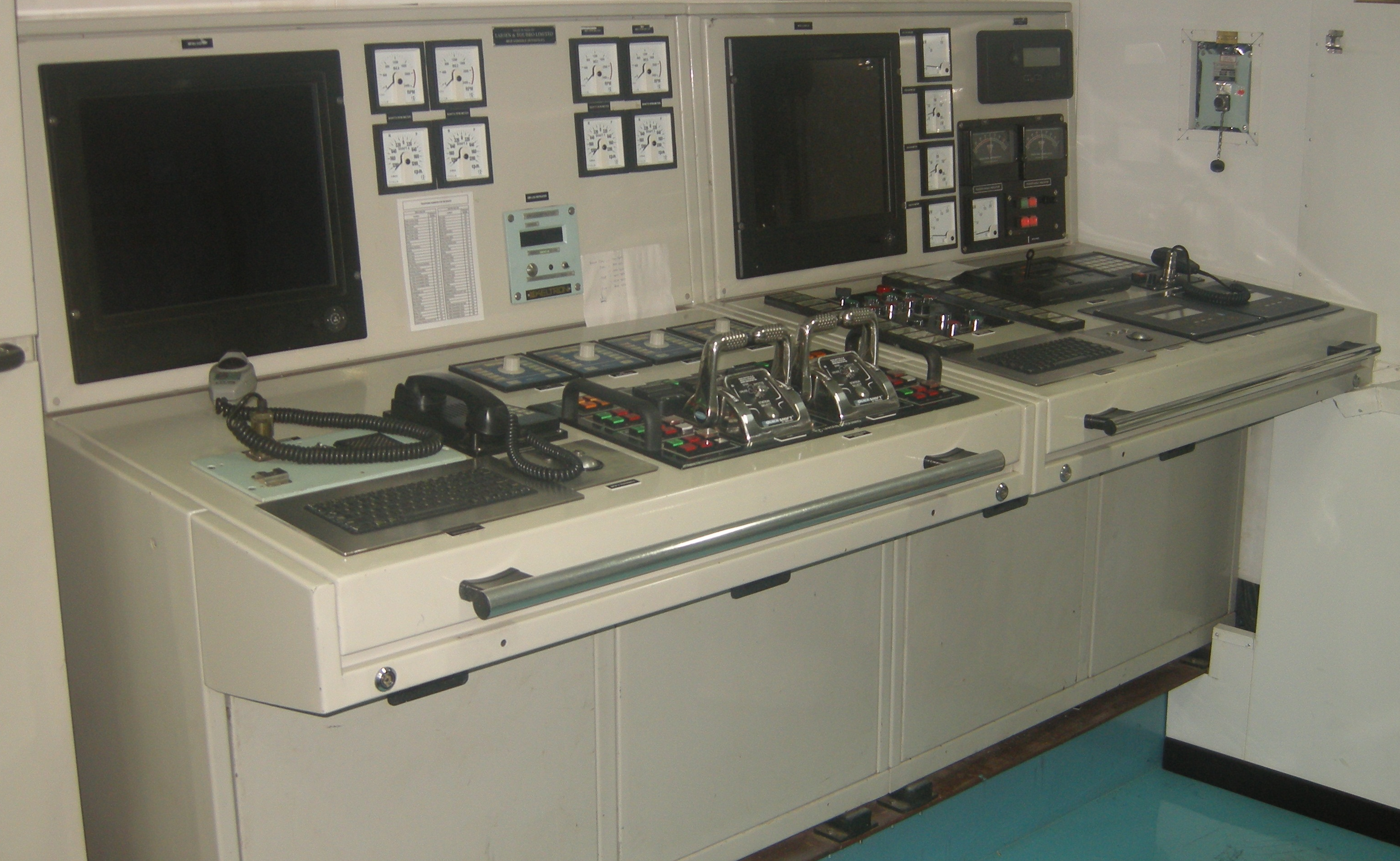 Control Systems (Commercial Ships)
