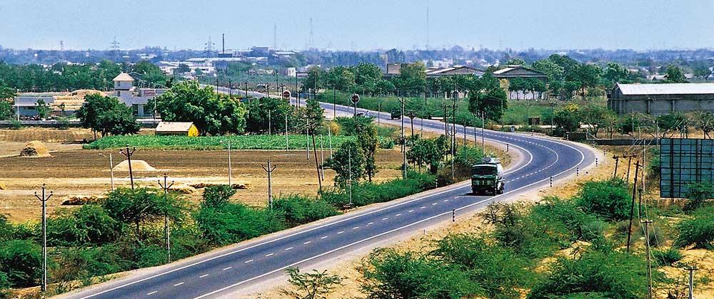 Rajkot-Jamnagar-Road
