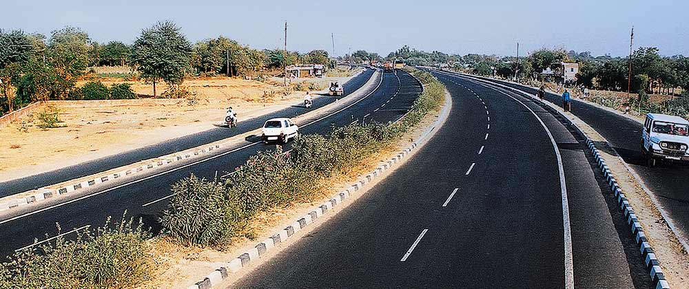 Ahmedabad-to-Mehsana-gujrat-toll-road