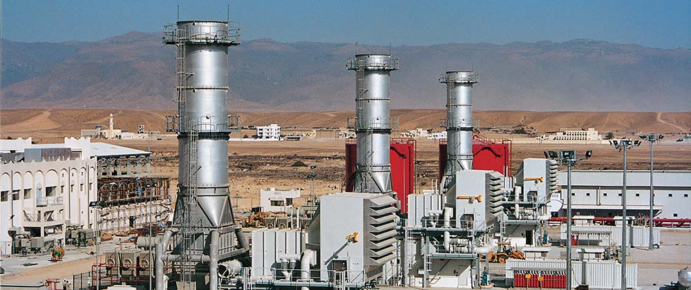 255 MW Open Cycle Power Plant, Salalah, Oman | L&T-Sargent