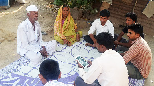 Baseline survey being conducted in Pathardi tehsil of Ahmednagar district