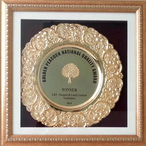 Golden Peacock Award_2014