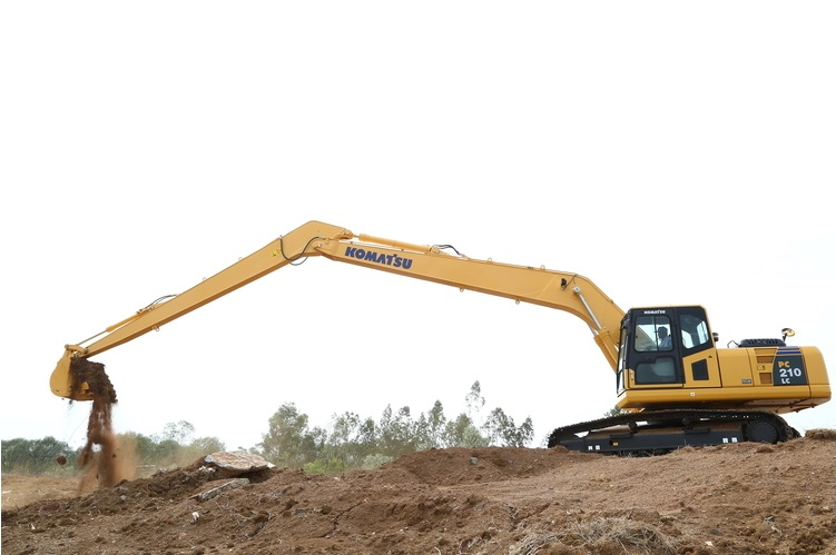 Komatsu Hydraulic Excavators - Construction & Mining Equipment India