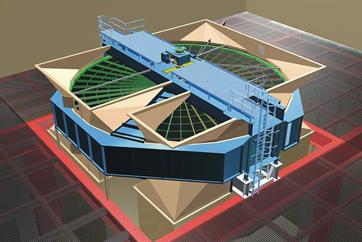 Tri Sector Air-Preheater