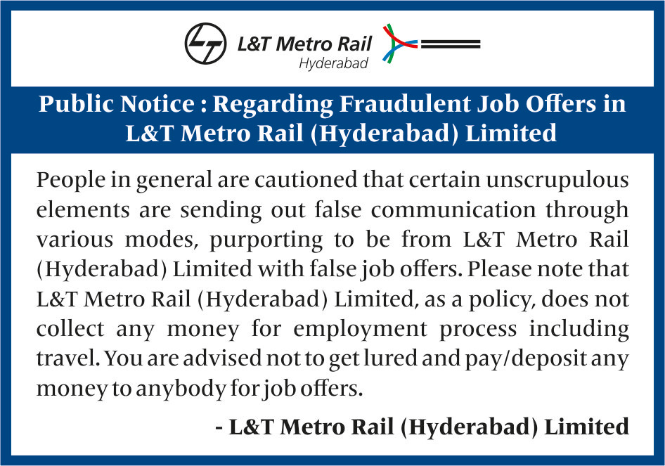 Work With Us | Hyderabad Metro | L&T India
