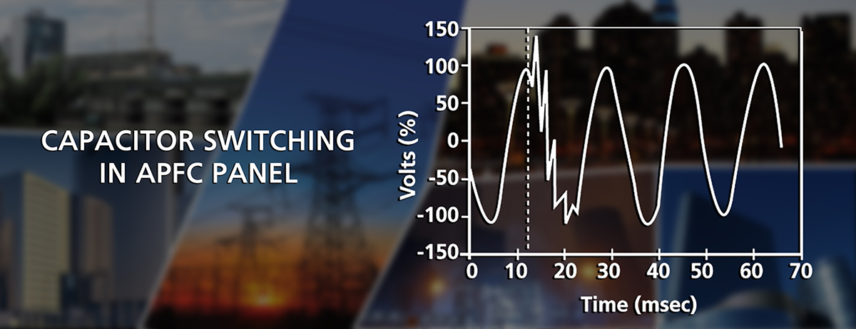 Graph of Capacitor Switching