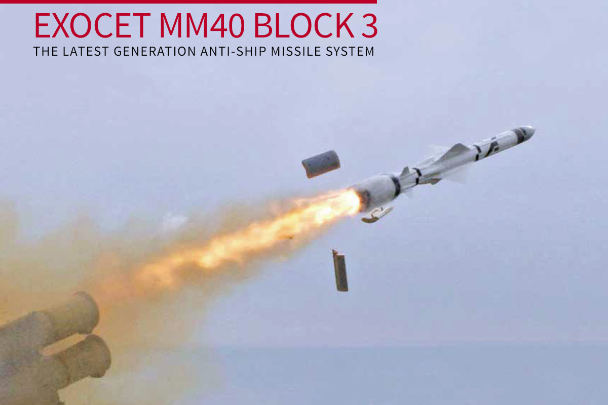 EXOCET MM40 BLOCK 3 The Latest Generation Anti-Ship Missile System
