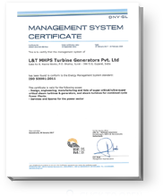 ISO: 50001 Certification