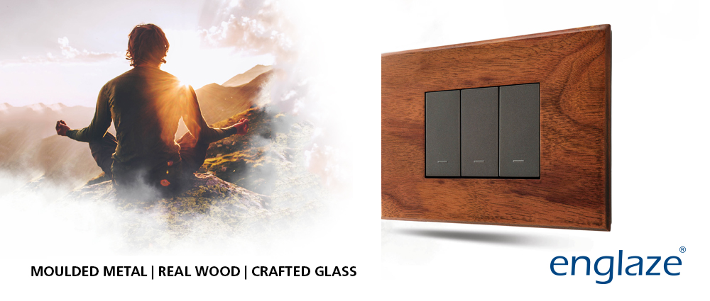Switches with Real Wood Plates