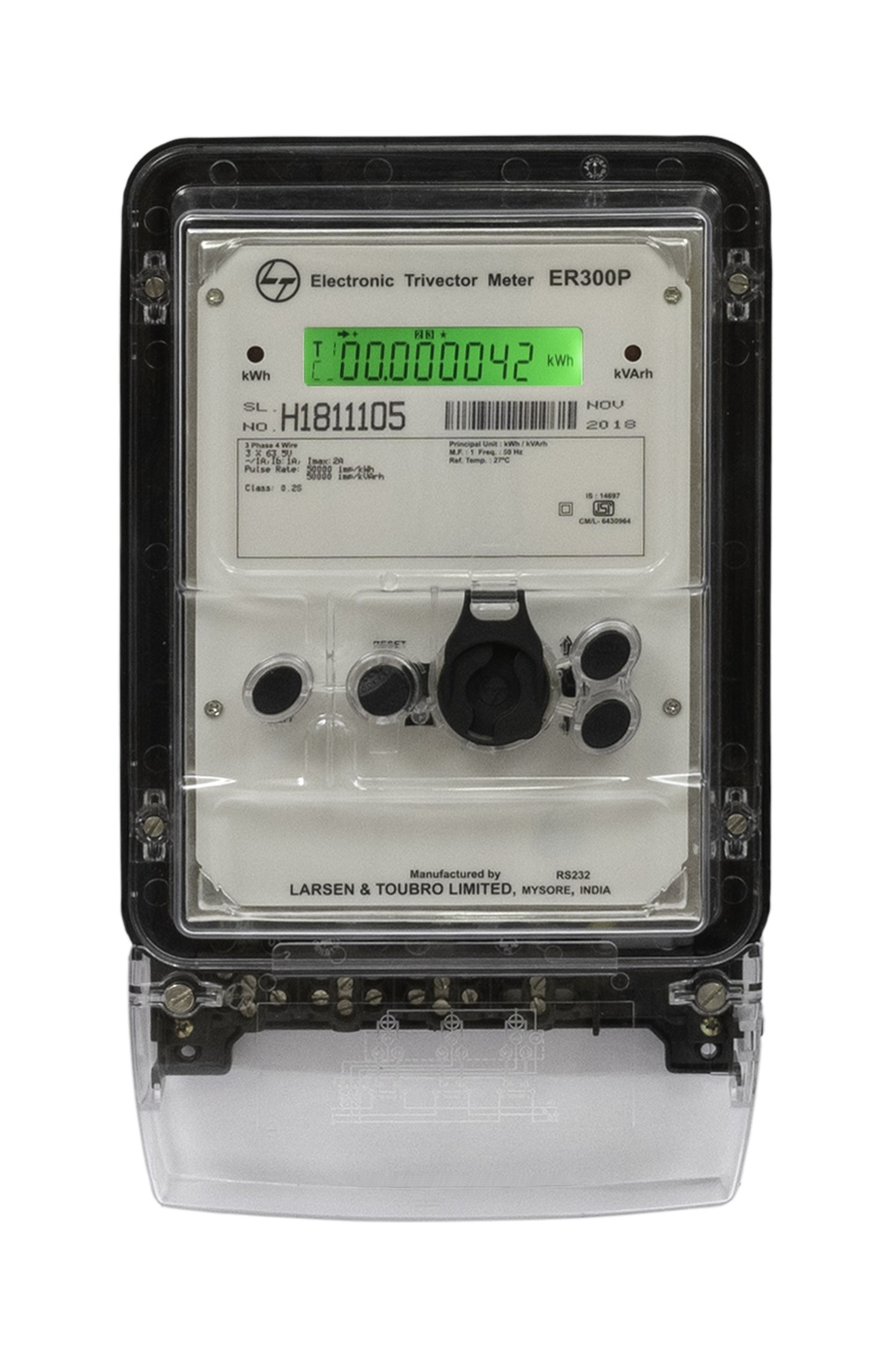 Three Phase HTCT Meter – ER300P