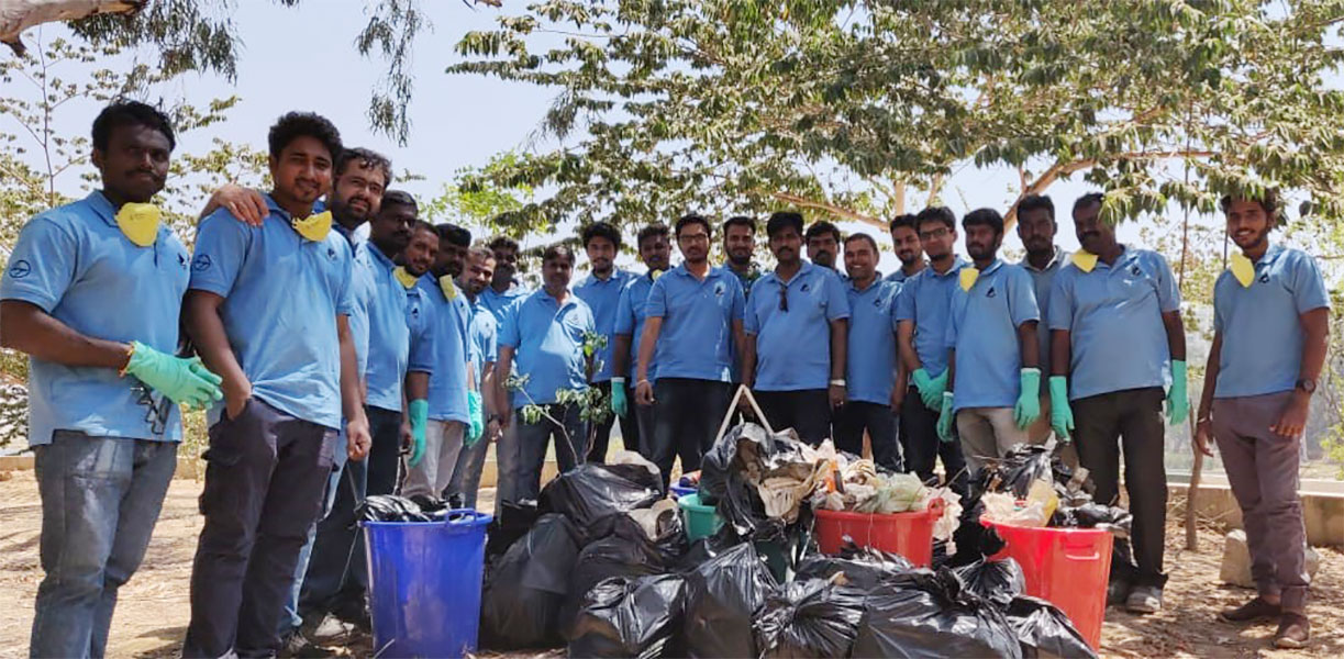L&T employees volunteer on World Water Day - 1
