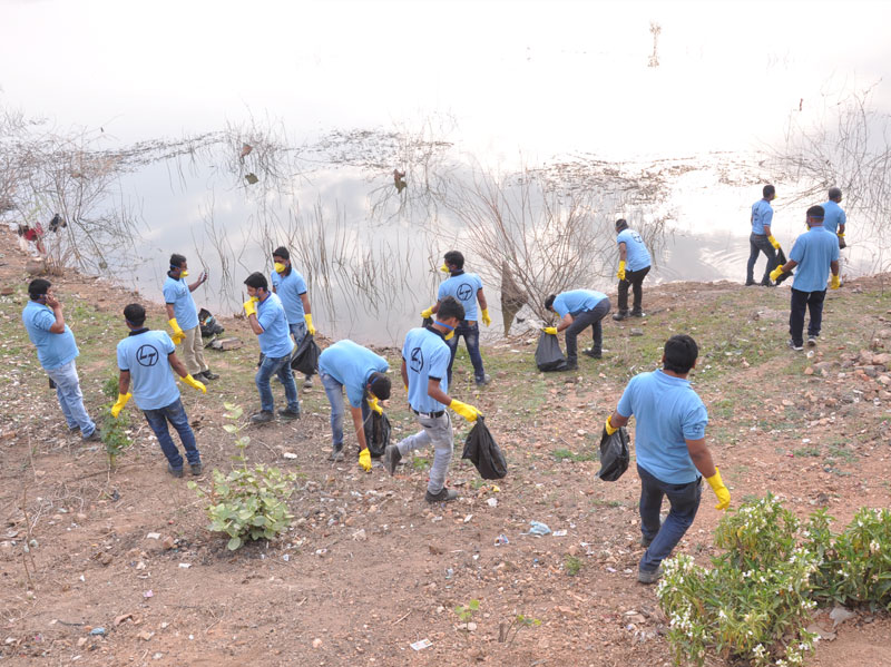 L&T employees volunteer on World Water Day - 3