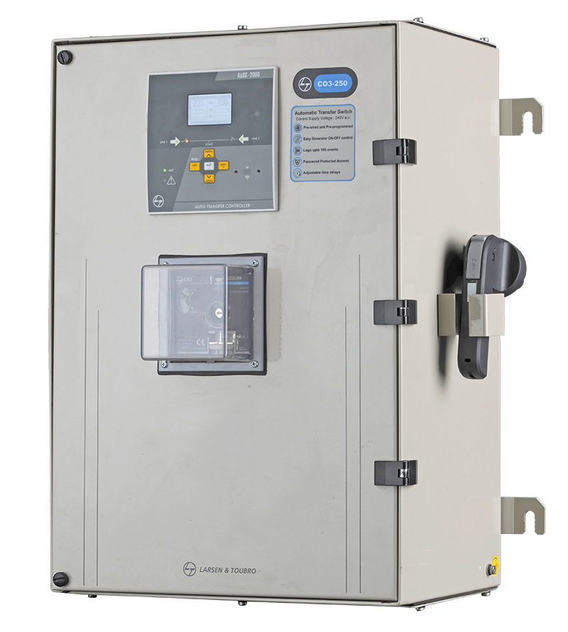 Enclosed ATS | Changeover Switch | Low Voltage Products ... on