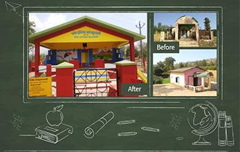 Rebuilding Anganwadis - Building Futures