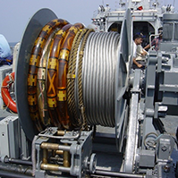 Winch and Handling system for SONARs