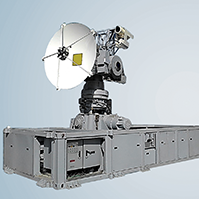 Dual Band Shipborne Tracking System