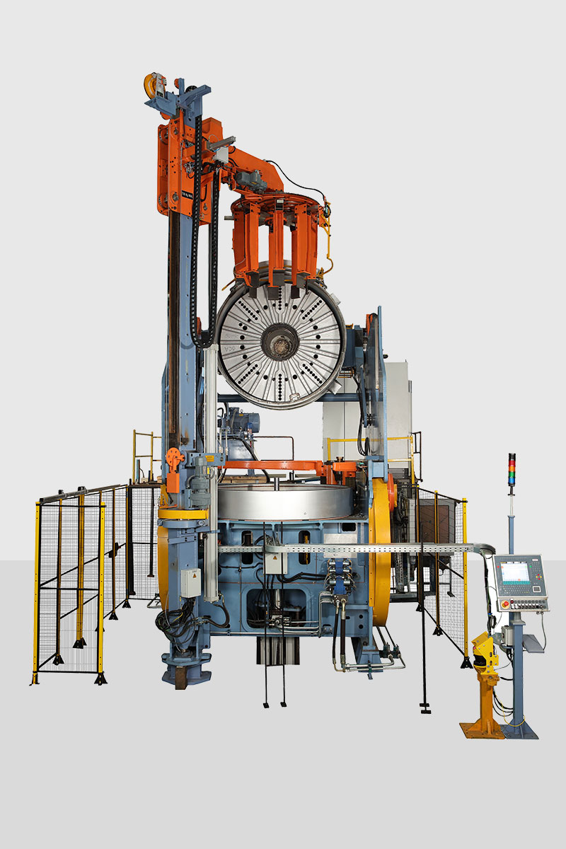 Mechanical Tyre Curing Presses | Rubber Processing Machinery