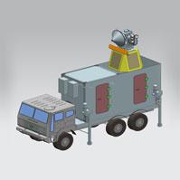 Air Defence Fire Control Radar