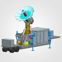 Precision Monopulse Tracking Radar