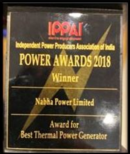 IPPAI Award – Best Thermal Power Generator