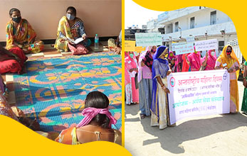 Celebrating International Women's Day, in India's heartland